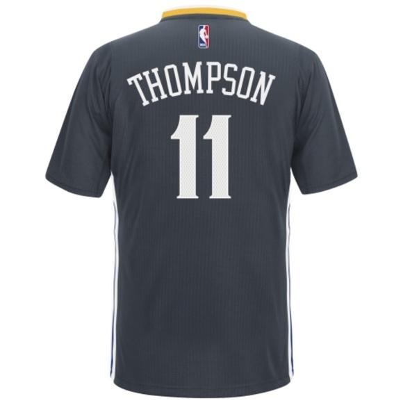 online retailer b3ccf 6a2f6 GSW Klay Thompson adidas Slate Swingman jersey MD NWT